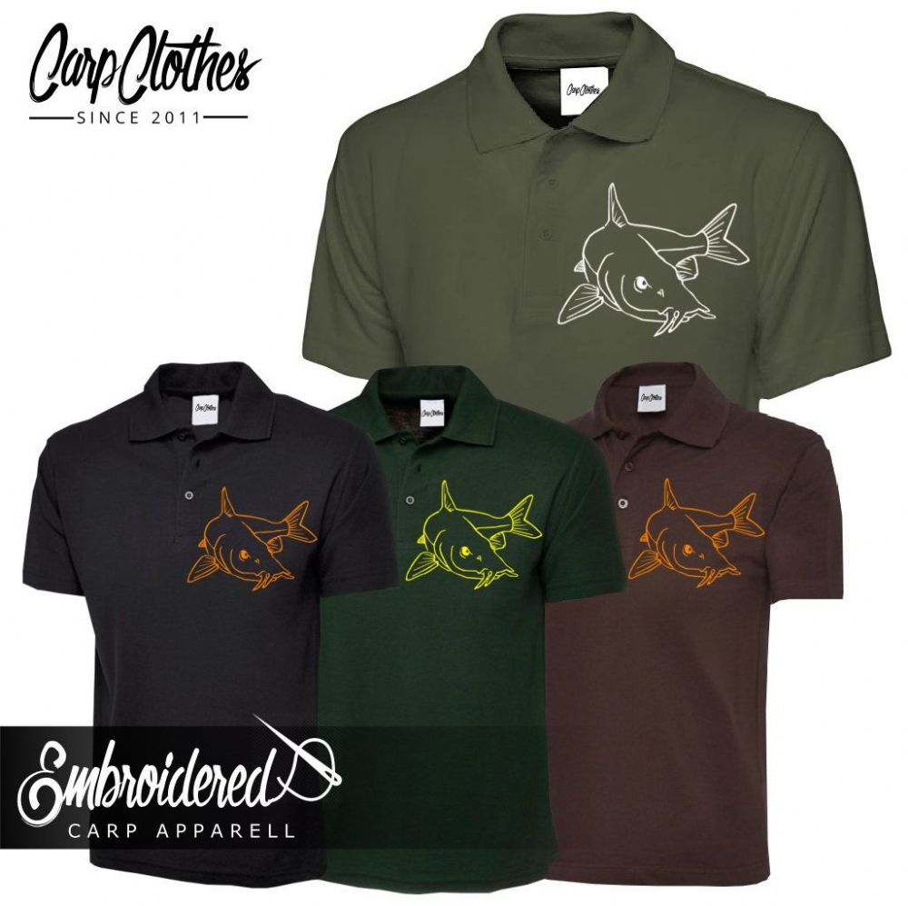 027 EMBROIDERED BARBEL POLO